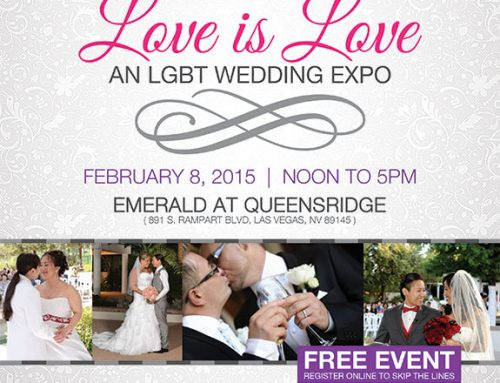 Las Vegas PRIDE LGBT Wedding Expo – February 8, 2015