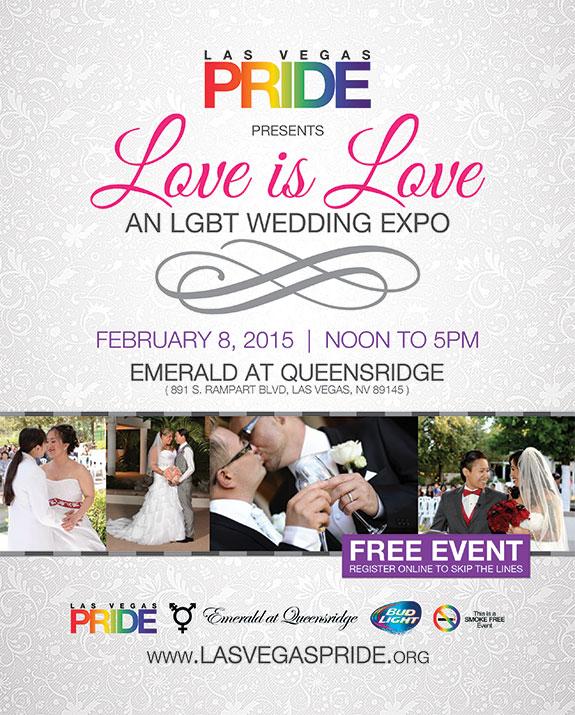 Las Vegas PRIDE LGBT Wedding Expo - February 8, 2015 - Las