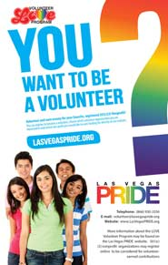 Volunteer with Las Vegas PRIDE!