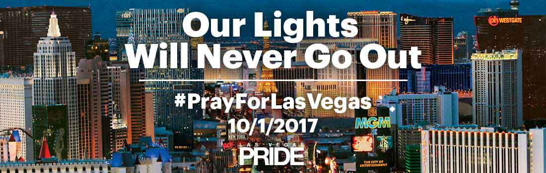 #PrayForVegas #PrayForLasVegas Our Lights Will Never Go Out
