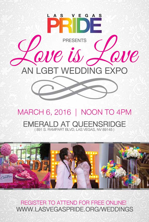 Love is Love LGBT Wedding Expo - March 6, 2016