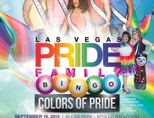Colors of PRIDE Family Bingo – September 16, 2015