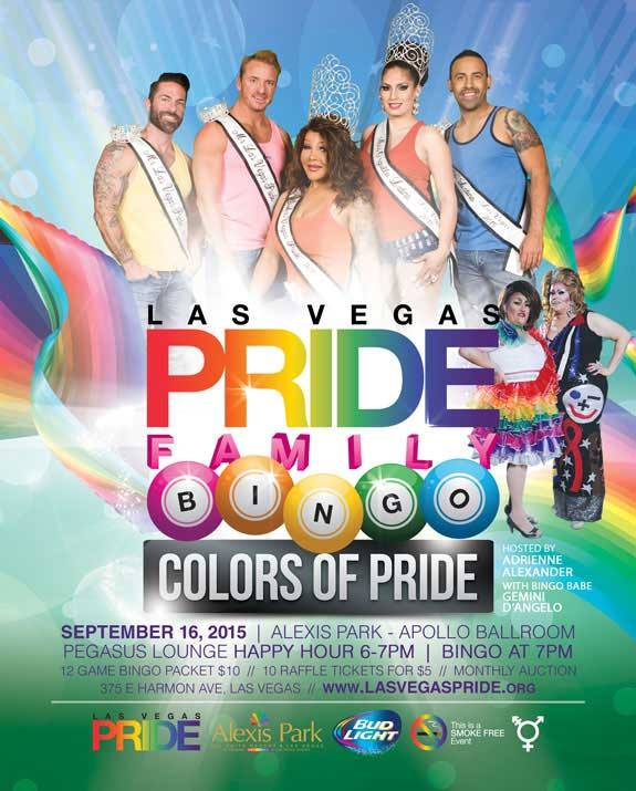Colors Of PRIDE Family Bingo