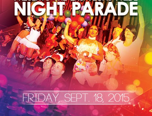 PRIDE Night Parade – September 18, 2015