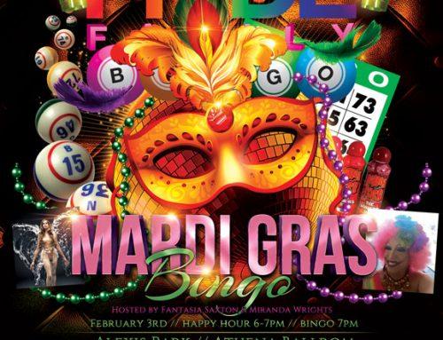 PRIDE Family Mardi Gras Bingo – February 3, 2016