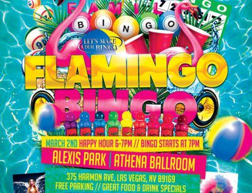 PRIDE Family Flamingo Bingo – March 2, 2016