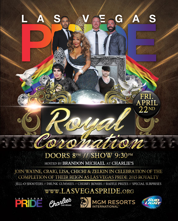 PRIDE Royal Coronation - April 22, 2016