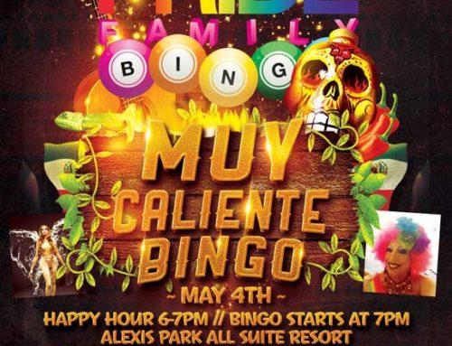 PRIDE Family Muy Caliente Bingo – May 4, 2016