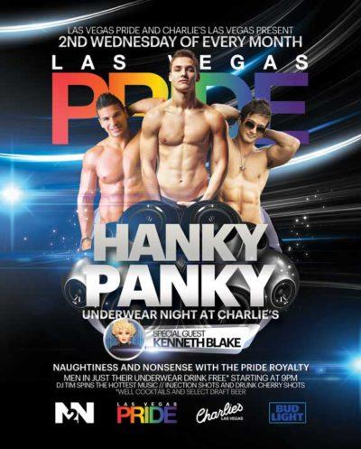 Hanky Panky Underwear Night at Charlie's