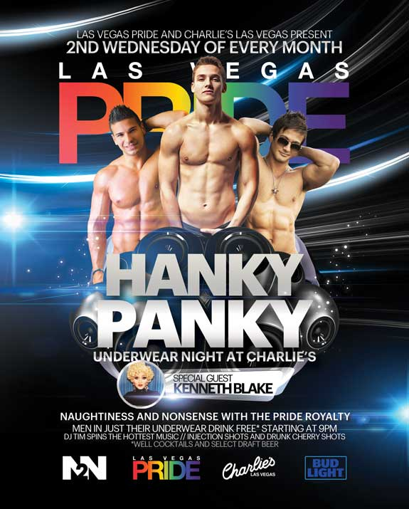 Hanky Panky Underwear Night at Charlie's