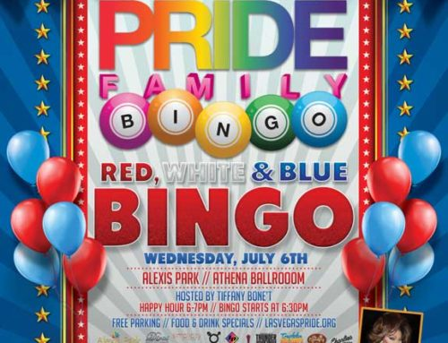 PRIDE Family Red, White and Blue Bingo – July 6, 2016