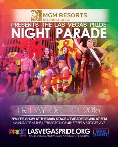 Las Vegas PRIDE Parade - October 21, 2016
