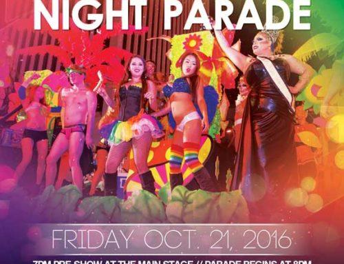 Las Vegas PRIDE Night Parade – October 21, 2016