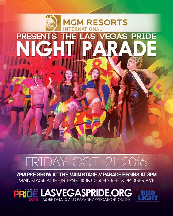 Las Vegas PRIDE Parade - October 21, 2016