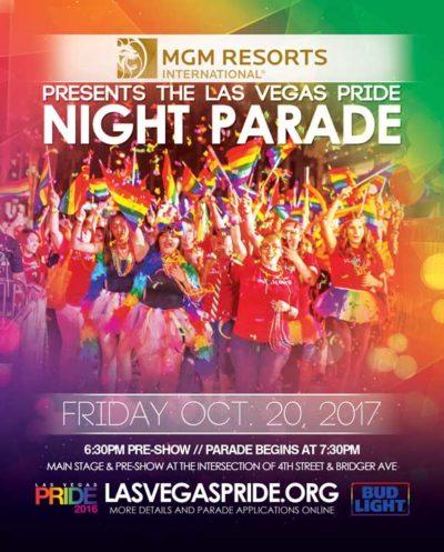 Las Vegas PRIDE Parade 2017