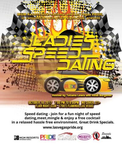 2017 Ladies Speed Dating
