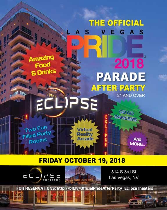 2018 Las Vegas PRIDE Night Parade After Party