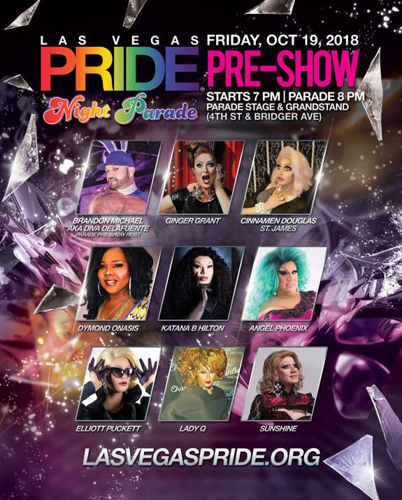 2018 Las Vegas PRIDE Night Parade Pre-Show