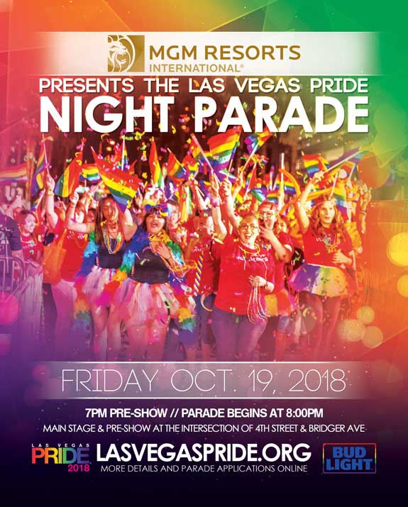 2018 Las Vegas PRIDE Night Parade