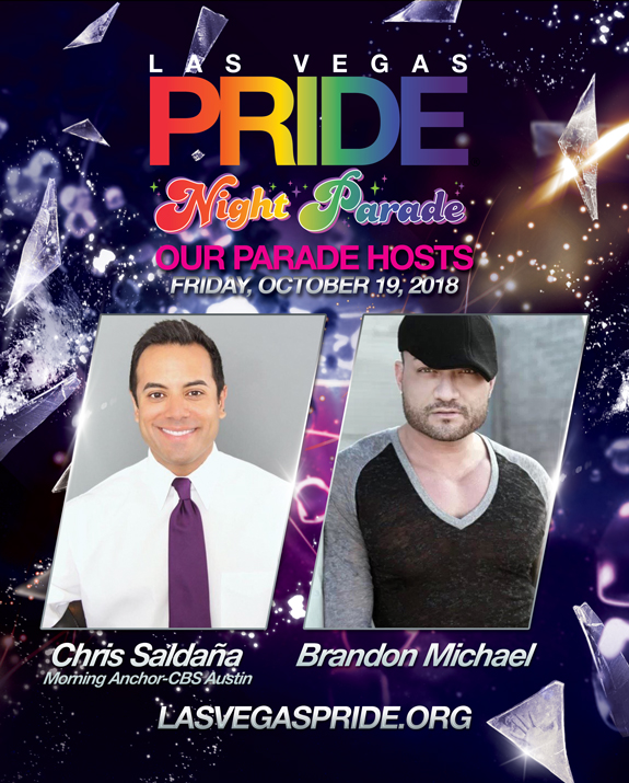 2018 Las Vegas PRIDE Night Parade Hosts