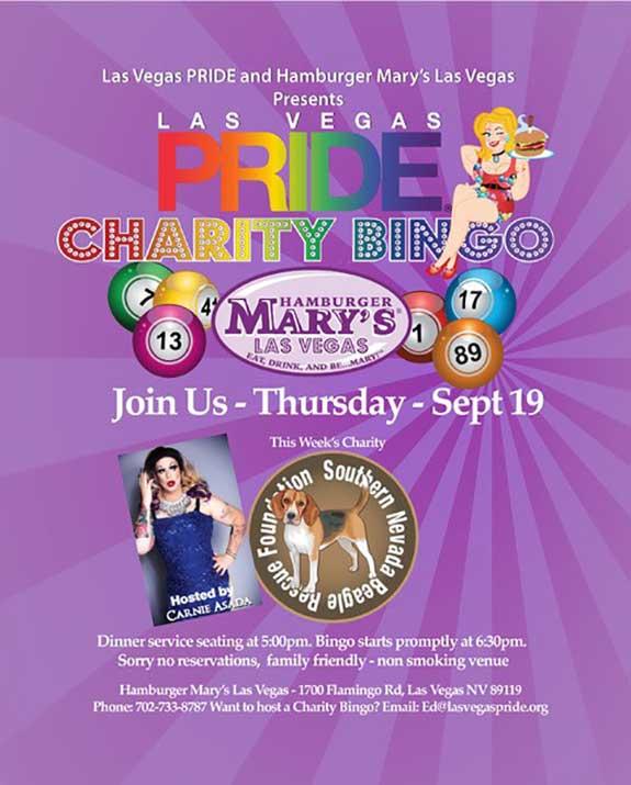 Beagle Rescue Charity Bingo Las Vegas