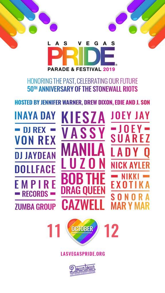 2018 PRIDE Festival DJs
