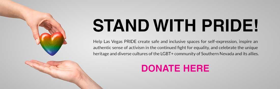 Donate to Las Vegas PRIDE