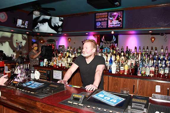Landon Heins at The Phoenix Bar and Lounge