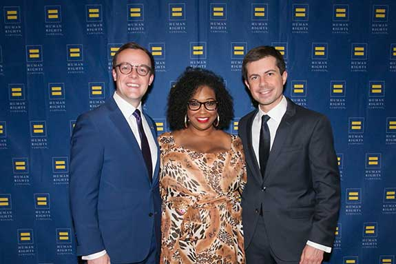 Chasten Buttigieg, Latoya Holman, Mayor Pete Buttigeg, President Biden's Transportation Secretary Nominee