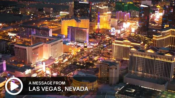 Click to watch message from Las Vegas