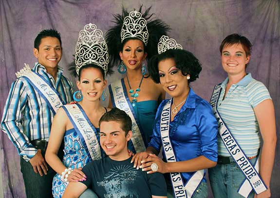 Photo of 2007 Las Vegas PRIDE Royalty