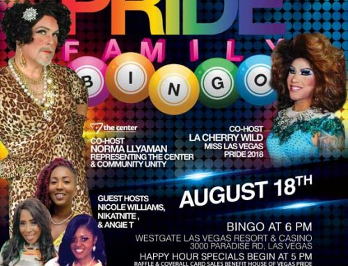 PRIDE Family Bingo – August 18, 2021
