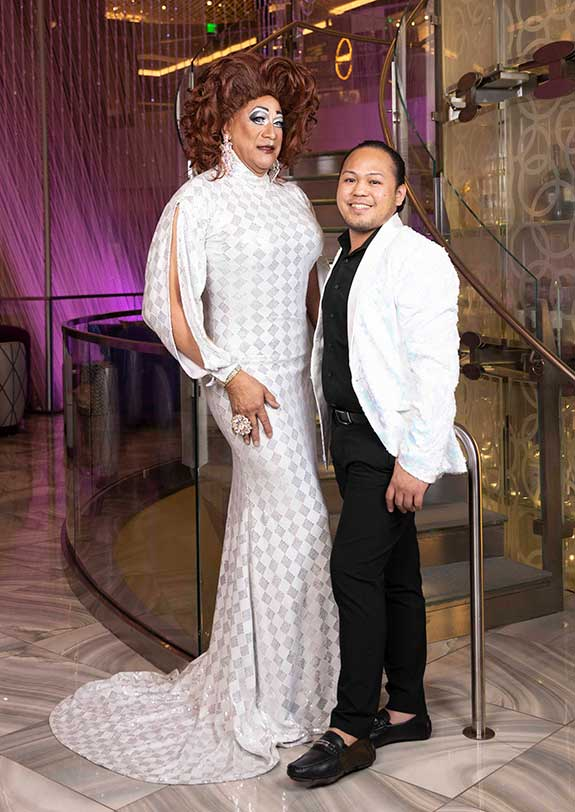 Photograph of 2021 Las Vegas PRIDE Royalty