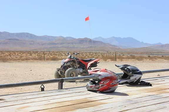 Off-Road Vehicles and helmets