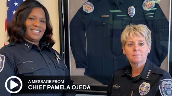 Click to watch a message from City of North Las Vegas Police Chief Pamela Ojeda